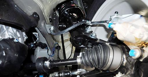 汽车内部半轴装配环境
